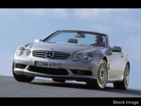 This SILVER 2004 Mercedes-Benz SL-Class SL 55 AMG might