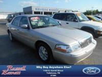 Get in a classic 2004 Mercury Grand Marquis LS. Alloy