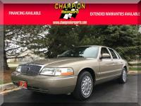 Options:  2004 Mercury Grand Marquis Gs 4Dr Sdn