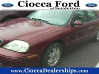 CARFAX 1-Owner, Excellent Condition. Moonroof, Leather,