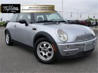 New Price! Clean CARFAX. Pure Silver Metallic 2004 MINI