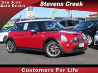 Options:  2004 Mini Cooper S S|Red|1.6L Inline