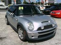 Our 2004 Mini Cooper S is a lot of fun to drive. The