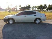 2004 White Mitsubishi Galant DE - $3850 cash, runs