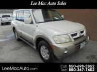 THIS IS A 2004 MITSUBISHI MONTERO LIMITED 4WD.IT HAS