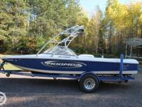 This 2004 Moomba Outback is powered by an Indmar, 310