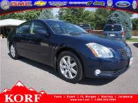 2004 Nissan Maxima 4dr Car SL Our Location is: Korf