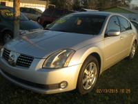 2004 NISSAN MAXIMA SL, 6 CYLINDER, AUTOMATIC, ONLY 115K