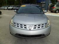 2004 NISSAN MURANO SL,ONE OWNER CLEAN CAR FAX 3.5L