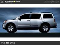 2004 NISSAN ARMADA LE**3 ROW SEATING**LEATHER**HEATED