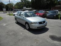 Options Included: **Low Mileage**2004 NISSAN SENTRA