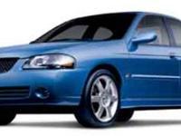 2004 Nissan Sentra SE-R Spec V, /, V4 2.5L Manual,