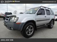 The rugged feel of this Nissan classic. The Xterra is a