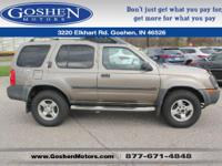This rock-solid 2004 Nissan Xterra XE will have you