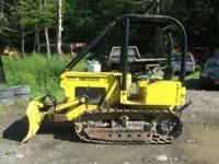 2004 NorTrac Bulldozer Runs & Works Great! Selling so