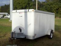 Enclosed Trailer, LED Lights Our Location is: Red Barn