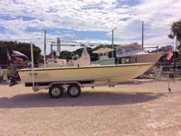 This 2004 Pathfinder 2200v Tournament Bay Boat powered