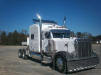 379-EXHD PETERBILT,C15 CAT, UNBRIDGED WITH CAR