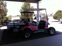 2004 Pink EZGO TXT PDS -  (las Cruces) Lift Kit, New