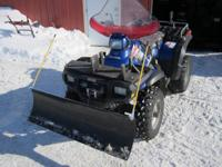 WE HAVE A 2004 POLARIS SPORTSMAN 400 4X4.  HAS A