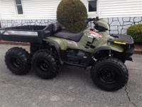 2004 Polaris Sportsman 500 6x6- Very rare machine,