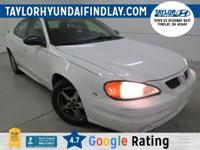 2004 White Pontiac Grand Am SE1  New Price!  3.4L V6