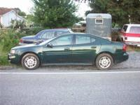 2004 pontiac grand prix GT. Runs well but has a wiring