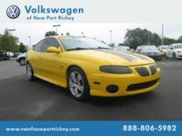 2004 PONTIAC GTO Coupe 2dr Cpe Our Location is: