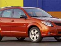 **HARD TO FIND** 2004 Pontiac Vibe **LOCAL, ONE OWNER