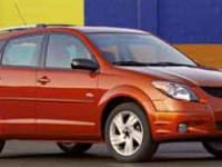 2004 PONTIAC VIBE GT FULLY LOADED, ALL BOOKS, CARFAX ON