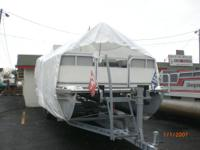 2004 pontoon chaser smoke craft 24 f come with trailer