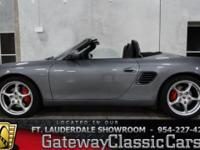 Stock #25FTL  2004 Porsche Boxster S $31,995