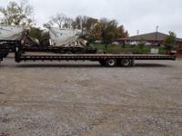 2004 Rolls Right 25KHD 40 x 8.6 ft Gooseneck trailer