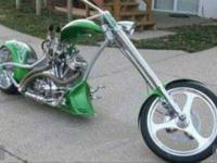 2004 Redneck Chopper Custom 2,000 miles 121 cu in show