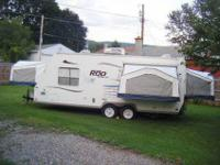 2004 Rockwood roo hybrid camper by forrest river.This