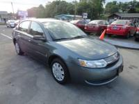 Seller's Notes: GAS SAVER!! Beautiful 2004 SATURN ION,