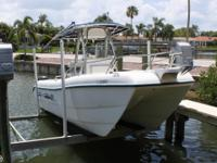 - Stock #077970 - This smooth riding 2004 Sea Cat 22 is