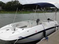 2004 21' Sea Fox 211 Fiberglas Deck Boat / Deckboat