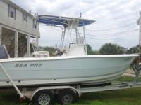 2004 Sea Pro CC 21ft. w/ 150 hp 4-stroke Yamaha under