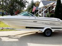 2004 SeaRay 180 Sport Open Bow. 3.0 L 4cyl 135hp