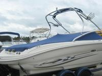 2004 SEA RAY 220 SEL5.0 LITER MERCRUISER MPIStainless