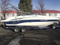 This 2004 Sea Ray Sundeck requires a new home. Nicely