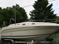 I have a 2004 SeaRay 240-SUNDANCER for sale. She has