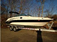 2004 Sea Ray 240 Sundeck. This is a terrific boat for