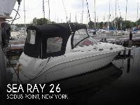 - Stock #083974 - It's a Sea Ray! This 260 has many