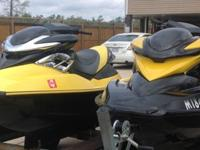 ,,,THESE JET SKIS ARE MINT CONDITION WITH NEW SEAT