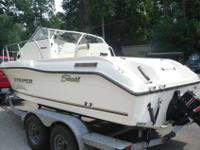 For sale is a 2004 Seaswirl Striper 1851 WA. This boat
