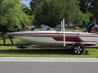 2004 SKEETER SL190 FISH AND SKI W/YAMAHA 150