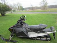 Selling the wives GSX Limited snowmobile. We are