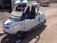 2004 Skidoo Elite Side by Side Two Person Snowmobile
